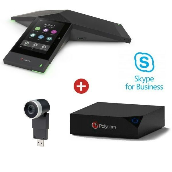 Realpresence 8500 Trio Collaboration Kit with EagleEye Mini -Skype for Business