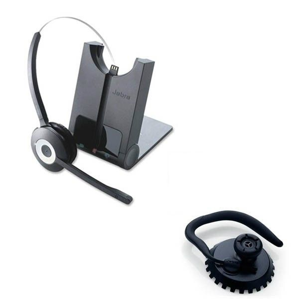Jabra PRO 935 Lync Wireless Headset + Ear Hook
