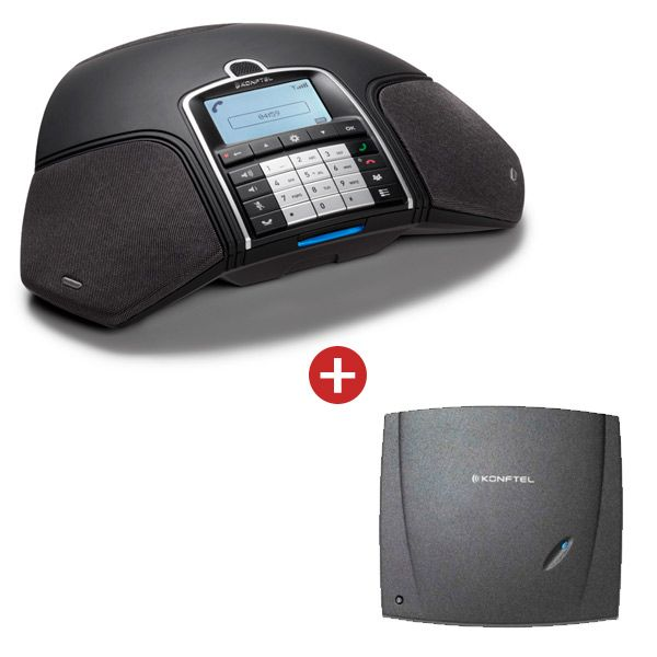 Konftel 300Wx with Analogue DECT Base Station