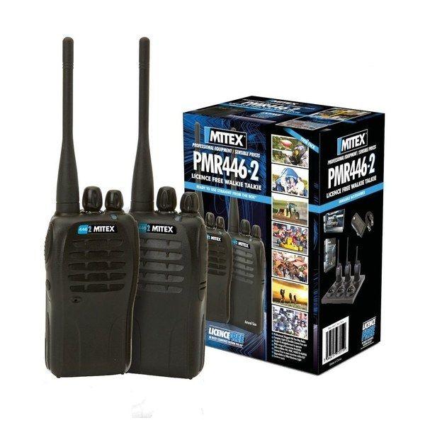 Mitex PMR446 Two-Way Radio - Twin Pack