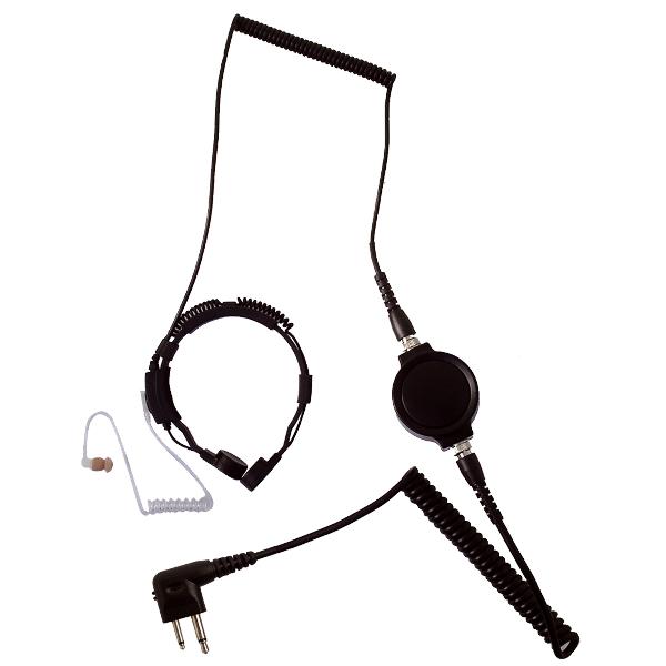 LGR-32M Throat Mic for 2-pin Motorola Radios