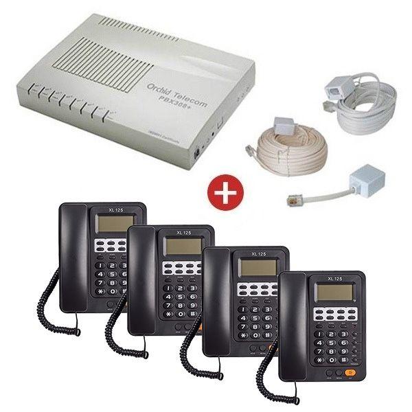Orchid Telecom PBX 308 + Starter Pack
