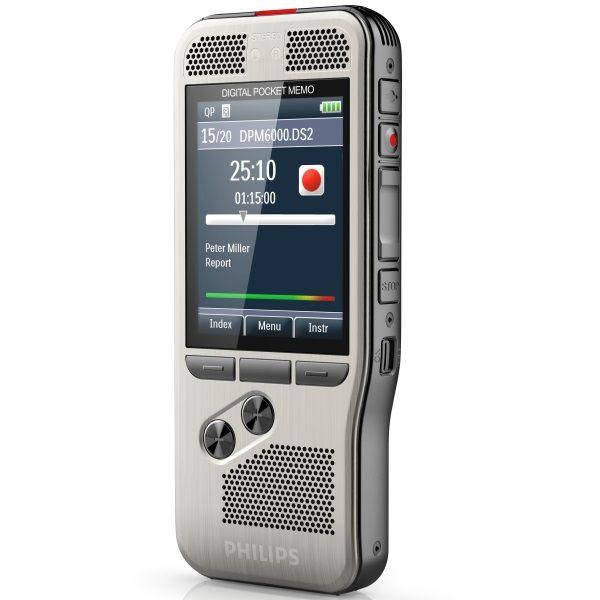 Philips DPM6000 Pocket Memo Digital Voice Recorder