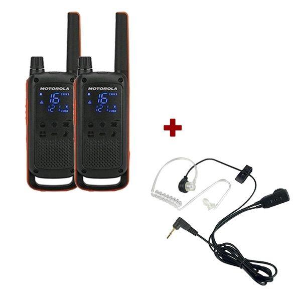 Motorola Talkabout T82 Twin Pack + Bodyguard Kits