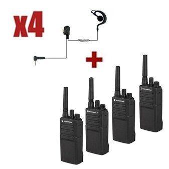 Motorola XT420 Quad Pack + G-shaped earpiece