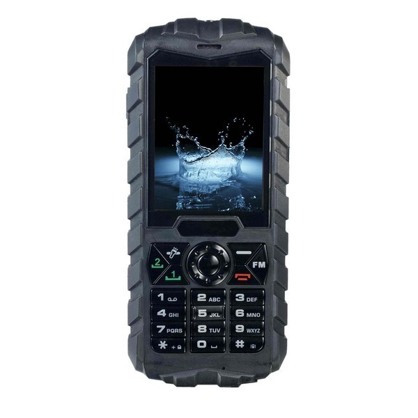 Onedirect Xtreme Tough Mobile Phone - Black