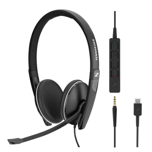 Sennheiser SC165 - USB-C and 3.5mm Jack