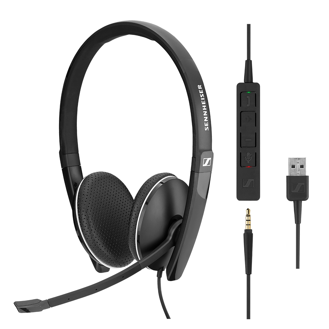 Sennheiser SC 165 - USB and 3.5mm Jack