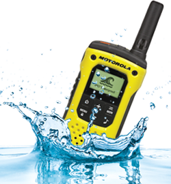 Waterproof/Water Resistant Two way radios