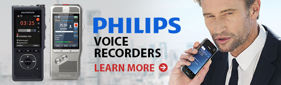 Philips Voice Recorders