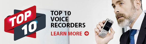 Top 10 Voice Recorders