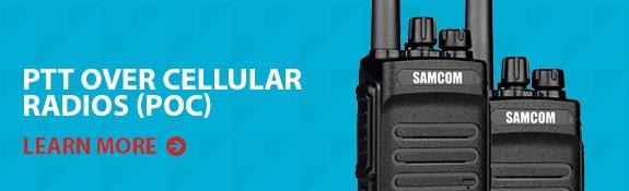 PTT over celular radios(POC)