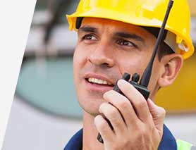 Two-way radios with accessories