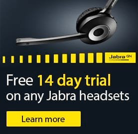 Free trial on Jabra Headsets