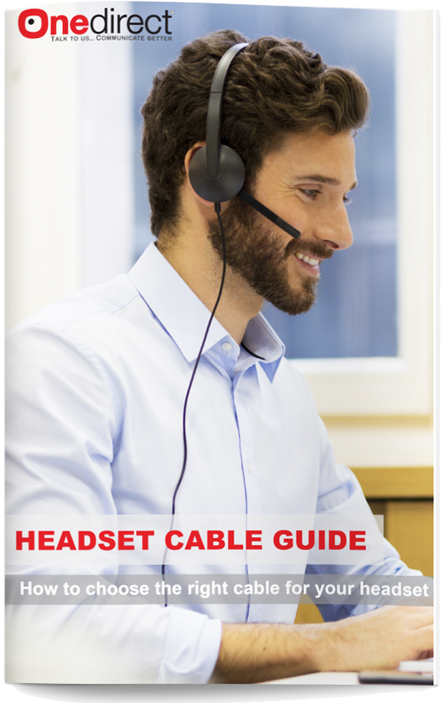 DOWNLOAD ONEDIRECT´S HEADSET CABLE GUIDE