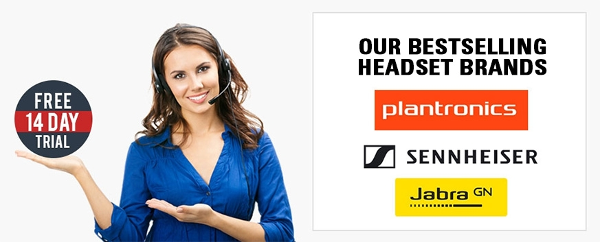 Free 14 day trial of headsets from bestselling brands