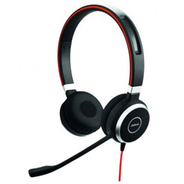 Jabra Evolve 40 UC   Binaural USB Headset
