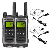 Two way radios Saver Packs with accessories