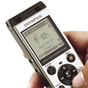 OLYMPUS WS-852 REVIEW: DIGITAL VOICE RECORDER